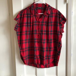 Madewell Central Shirt in Dahl Plaid